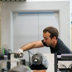 montaje maquina Gearless